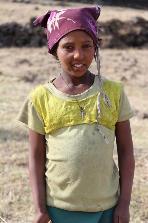 Farm Girl from Lalibela