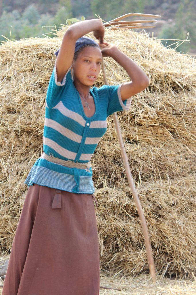 Farm Girl in Lalibela