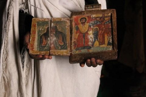 Holy Book at Asheton Maryam