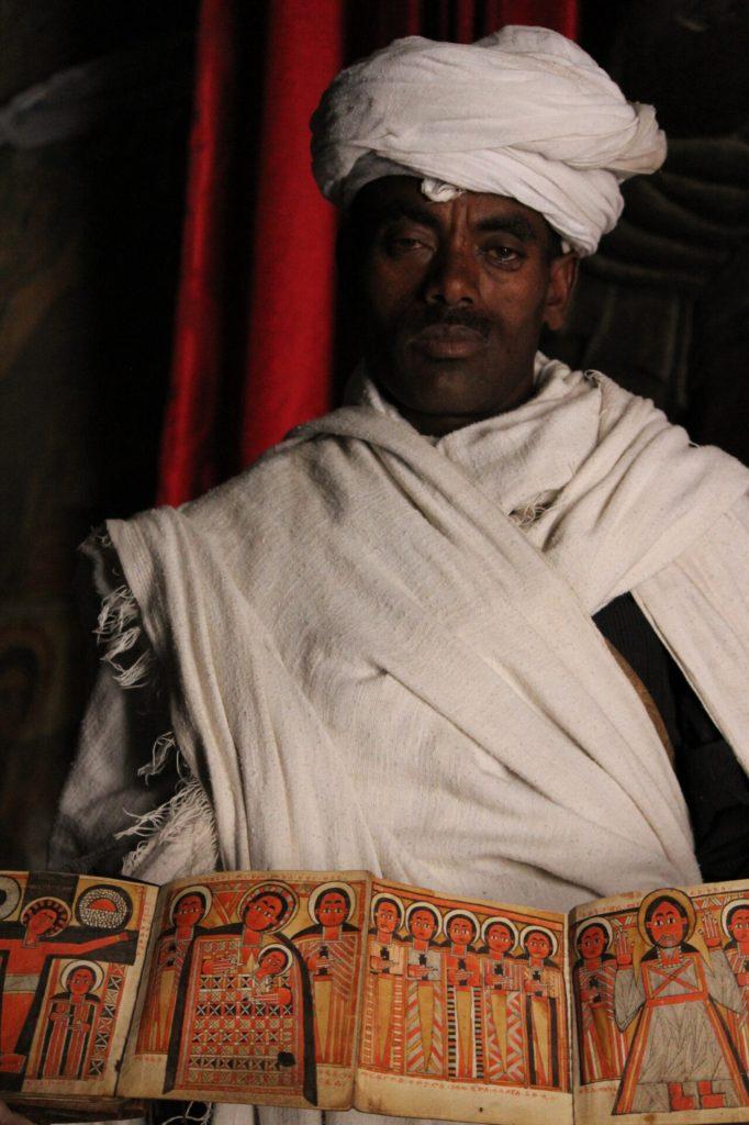 Priest at Asheton Maryam