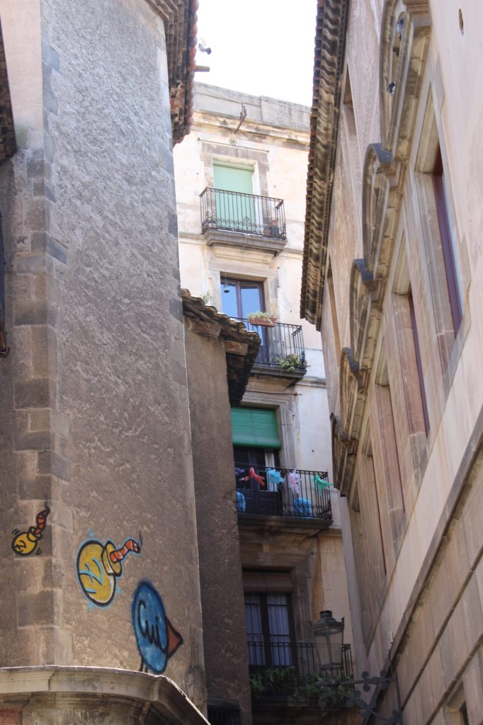 Jewish Quarter in the Barcelona Gothic Quarter
