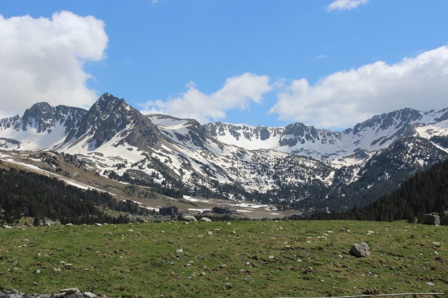 Perfect Mountain Valley Meadow in Andorra La Vella