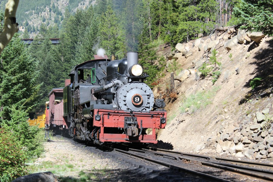 She'll be coming round the mountain...at the Georgetown Loop Railroad!