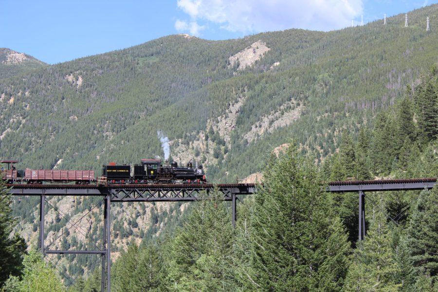 Devil's Gate Station Bridge - Georgetown Loop Railroad