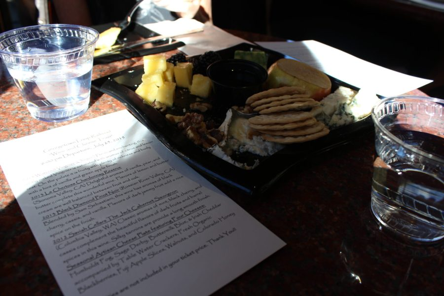 Cheese on the Georgetown Loop Railroad