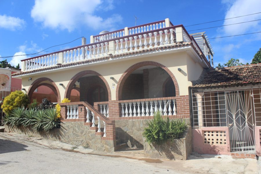 Hostal Cuba outside of Trinidad, Cuba in La Boca