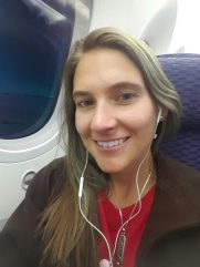 CJ Flying to Rio on the Dreamliner - easy breezy