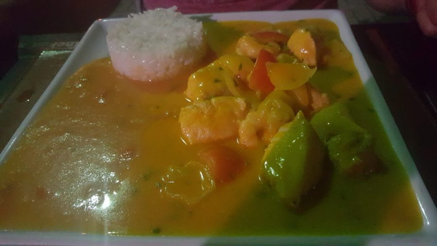 Tampiqui fish stew/curry