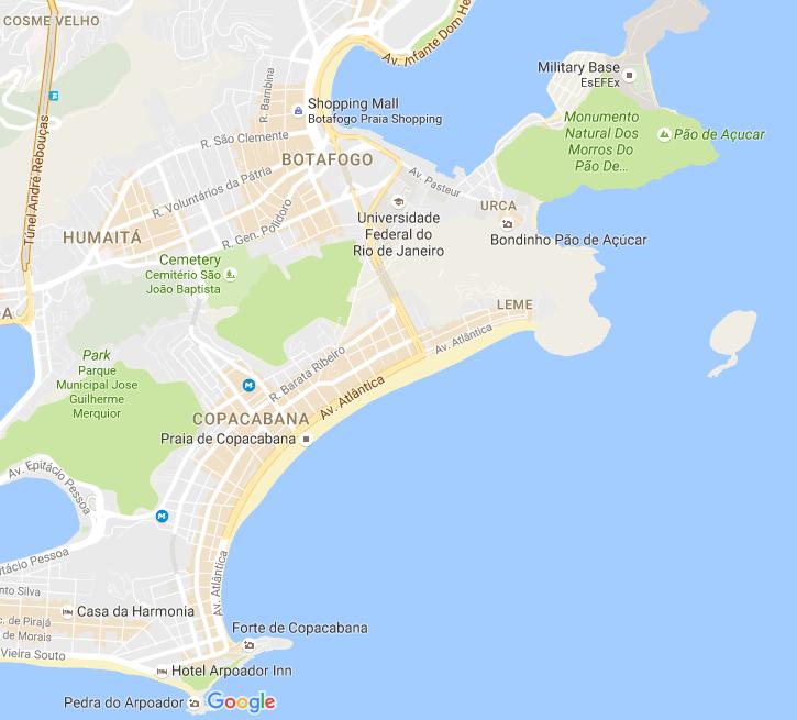 Ipanema and Copacabana - Rio in 2 days