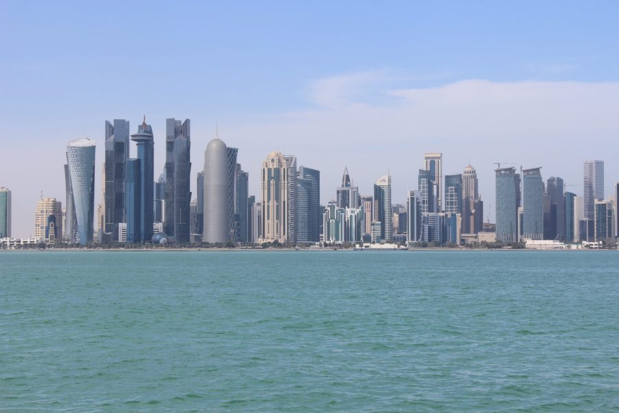A day in Doha - the corniche
