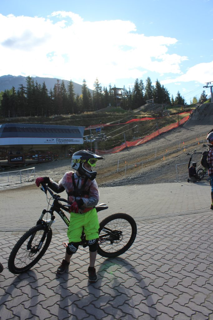 Whistler day-tripping - mountain bikers galore