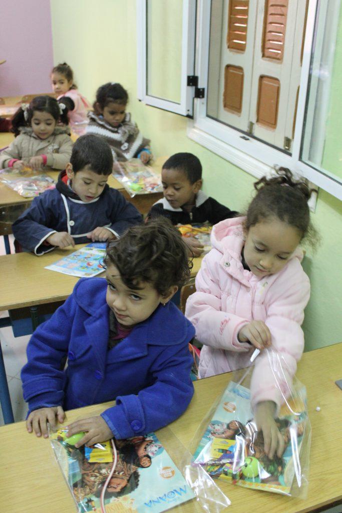 Local school visit in Erfoud