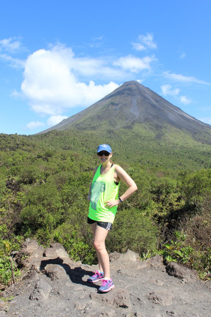 Viewpoint of Arenal volcano