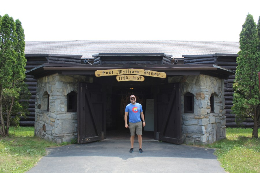 Fort William Henry on Lake George