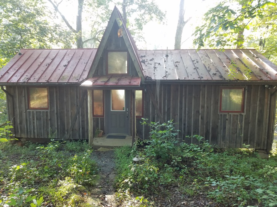 Brightwood Farm A frame cabin