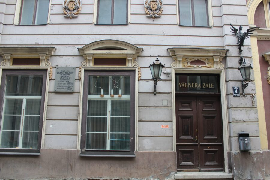 Wagner's studio in Riga