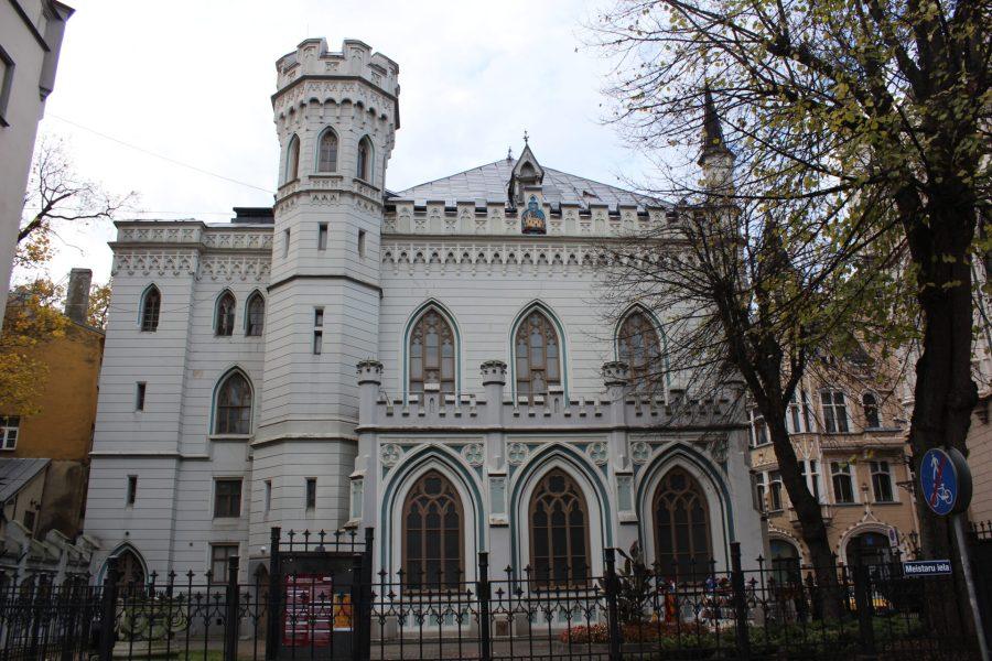 Merchant buildings in Riga