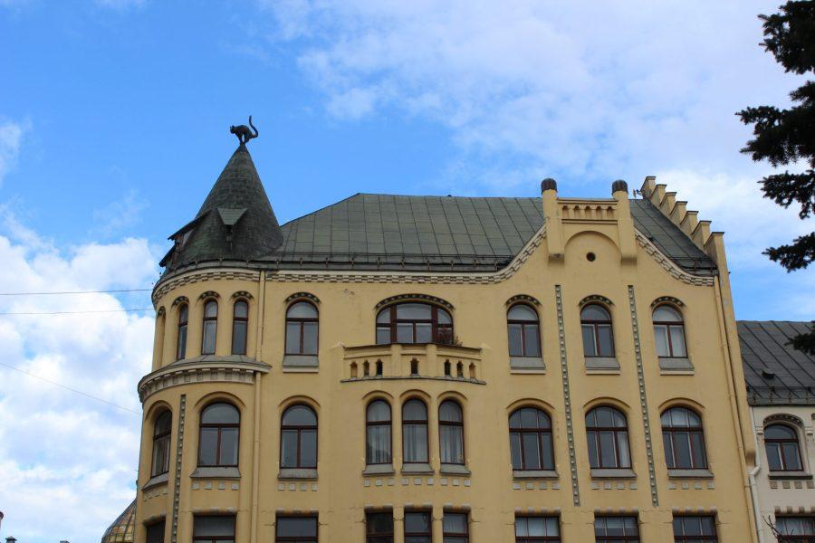 Cat House in Riga
