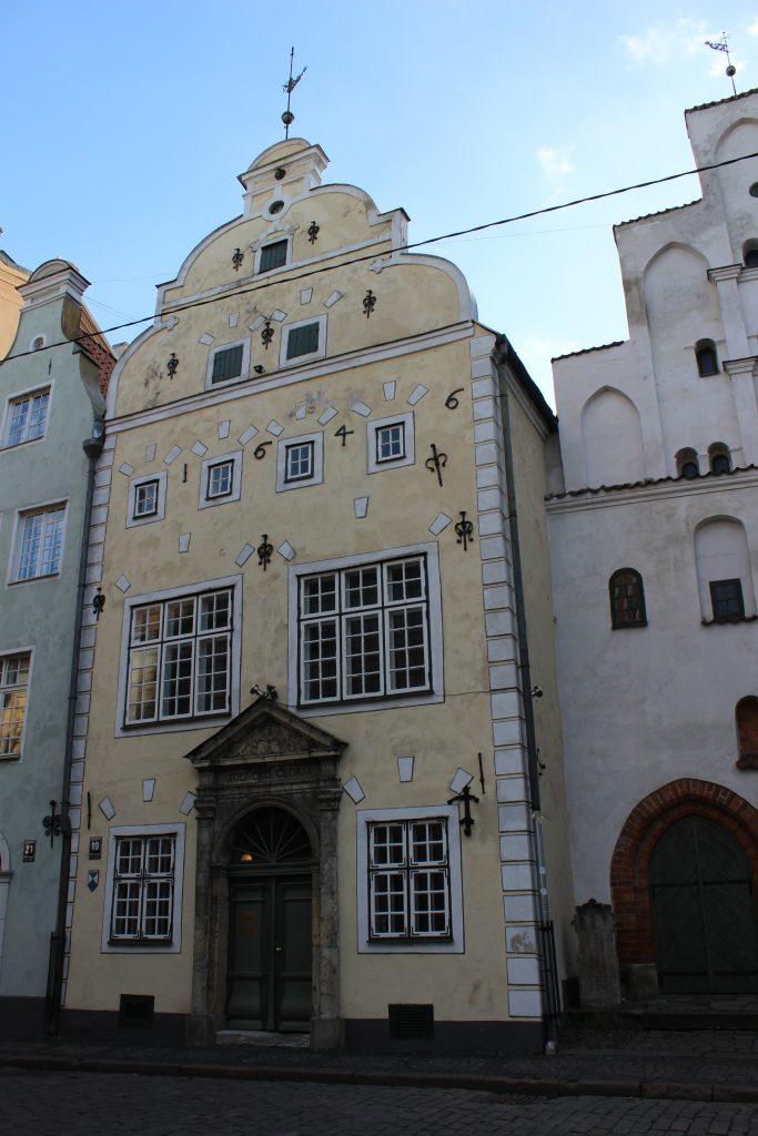 Three Brothers in Riga