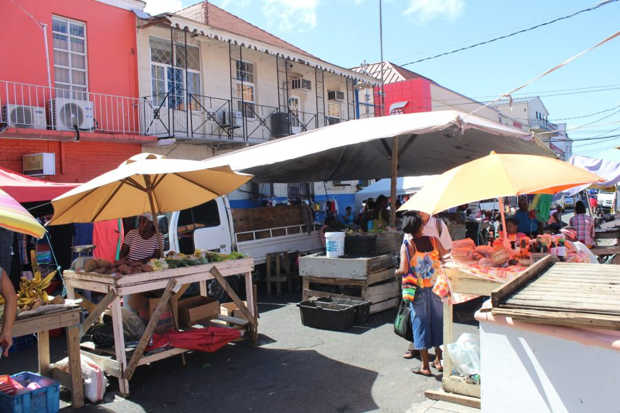 St. George's, Grenada Saturday market