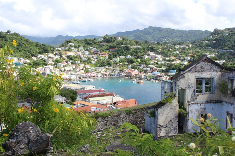 The Carenage in Grenada