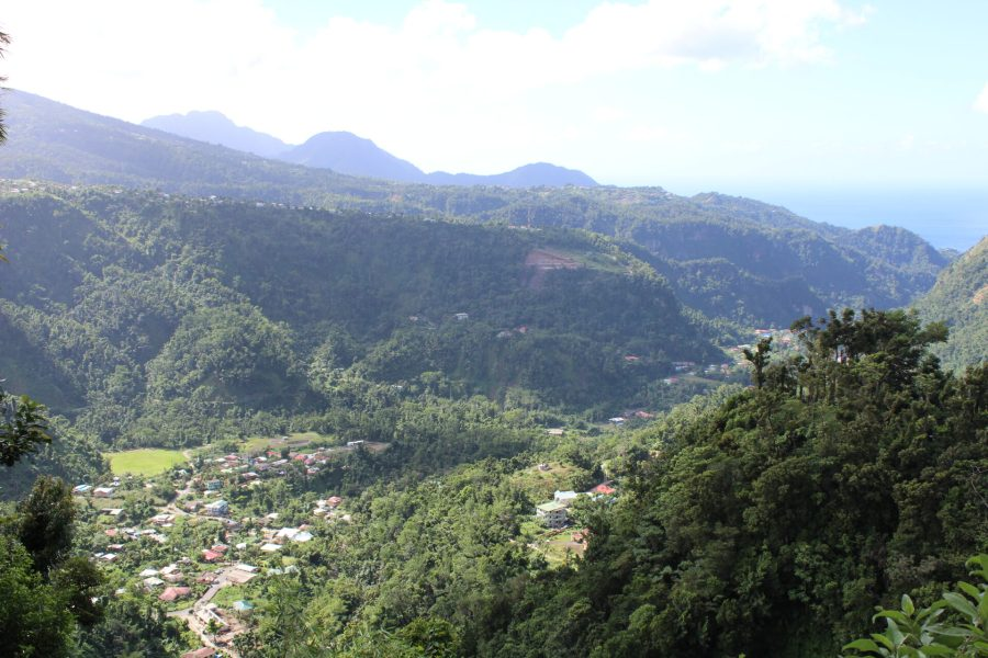 Dominica countryside