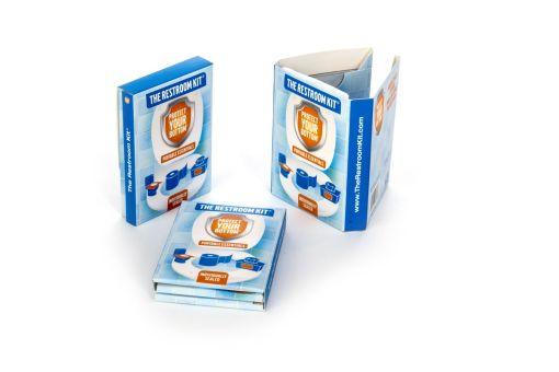 The Restroom Kit - Bathroom Essentials - travel toiletries - bathroom survival kit