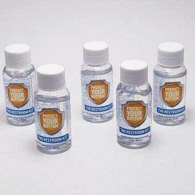 Gel Hand Sanitizer - toiletries travel pack - public toilet survival kit - travel toiletries
