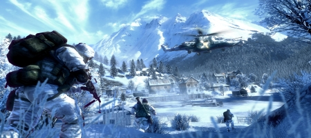 Bad Company 2 features current British weather