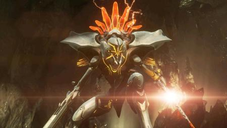 Halo 4 screenshot campaign 343 industries promethian knight