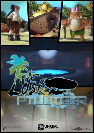 Funky Lost Piloteer poster.