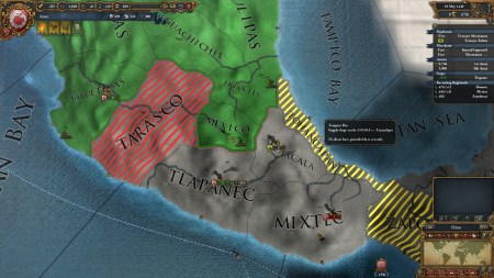 My adventures in the New World were a failure as well.