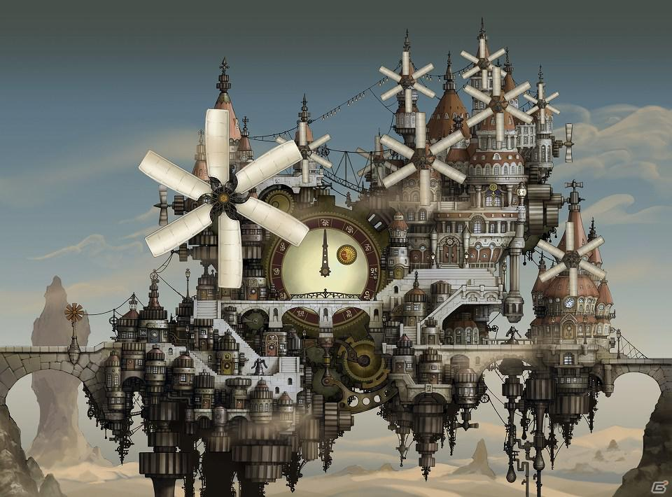 Central Town Bravely Default Demo