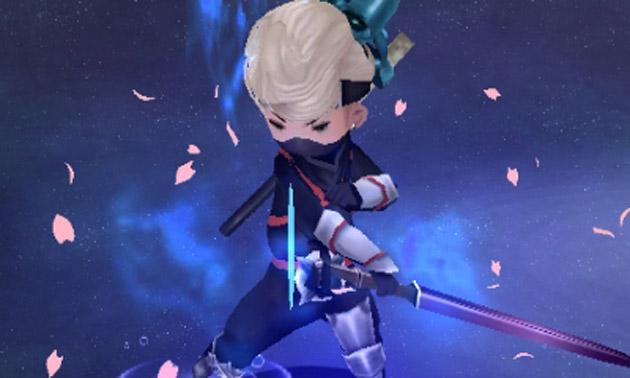 Ringabel using a Ninja ability