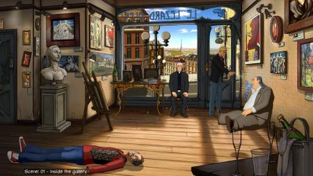 Broken Sword The Serpent's Curse Screenshot December release date