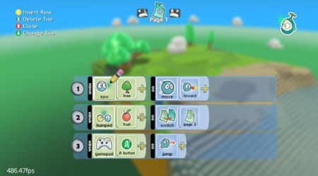 Part of the Kodu UI