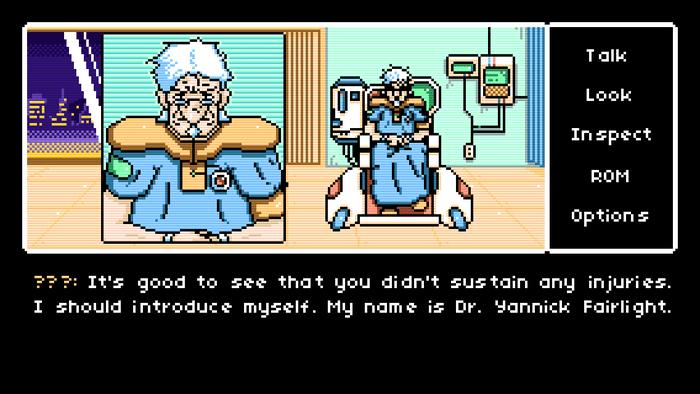 Read Only Memories gameplay screenshot