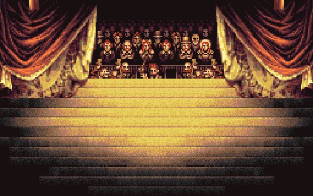 Final Fantasy VI Opera House Stage