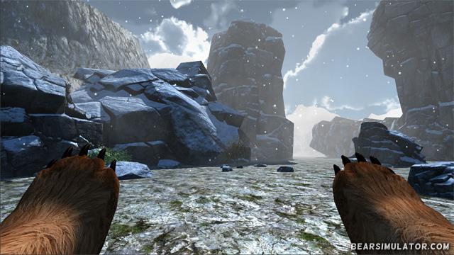 Bear simulator gameplay screenshot