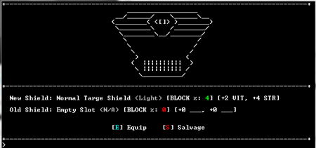 Is it just me or does ASCII graphics make everything look like it came from Ancient Egypt?