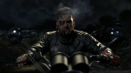Metal Gear Solid Phantom Pain bike