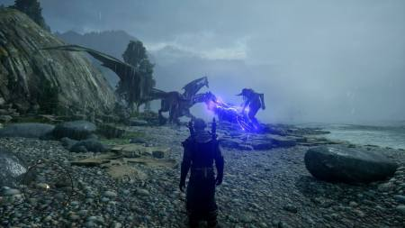 Dragon Age dragon and giant