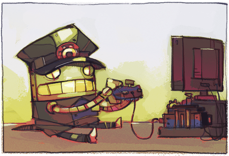 The Swindle on consoles? Awesome :)