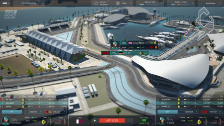 Some of the tracks are looking quite nice. A combination of Monaco and Valencia perhaps?