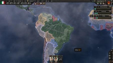 South America next?