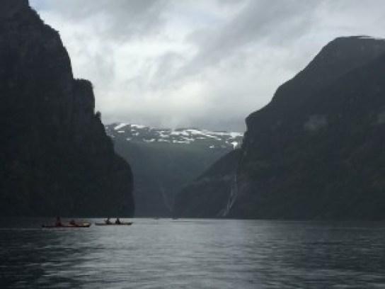 Kayak Fjord