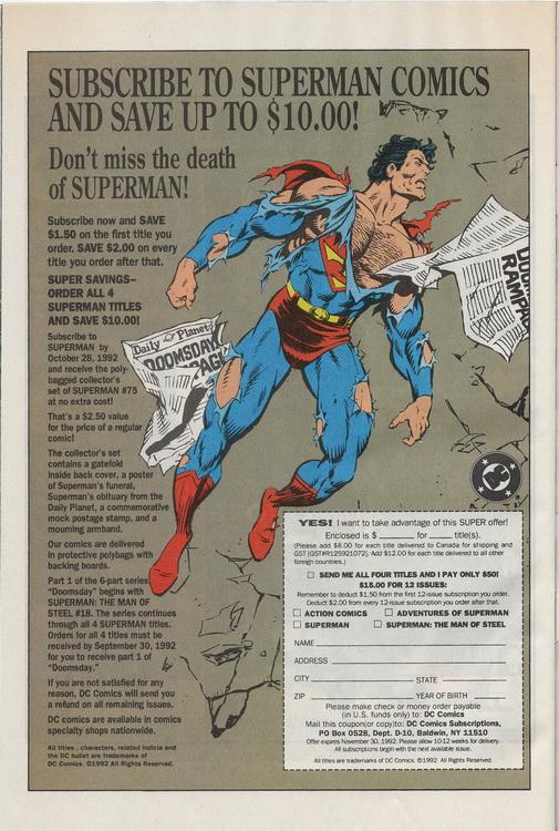 Spectre 1.8 Superman
