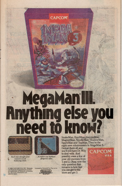 Adventures of Superman 475 Megaman 3