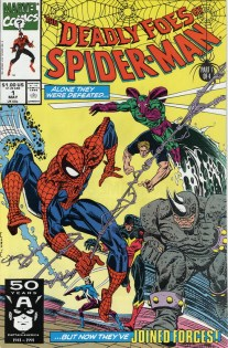 Deadly Foes of Spider-Man Cover