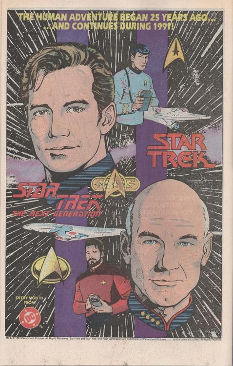 Hawk & Dove Star Trek